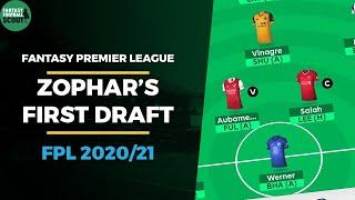 First FPL Draft from a 7 TIME TOP 10K FINISHER | Fantasy Premier League Tips 2020/21