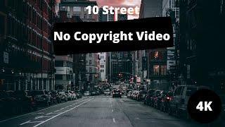 Top 10 Free Street Stock Videos   4K Video   HD Video   Non-Copyright Video   Ariel View of Street  