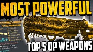TOP 5 MOST POWERFUL LEGENDARY WEAPONS - Borderlands 3 - 5 OP WEAPONS - March 2020