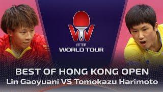 FULL MATCH - Lin Gaoyuan vs Harimoto (2019) | BEST of Hong Kong Open
