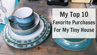 MY TOP 10 FAVORITE PURCHASES FOR MY TINY HOUSE
