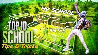 Top 10 School Tips and Tricks in PUBG MOBILE || New Push and Defending Tips, Tricks