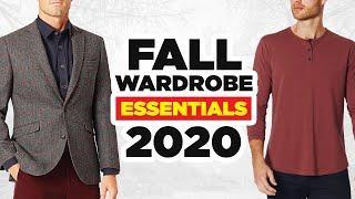10 Fashionable Fall Wardrobe Essentials Every Man Needs (2020)