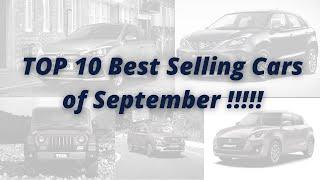 Top 10 Selling Cars of September Month | AUTO DRIFT | KIA is no More in the LIST !!!