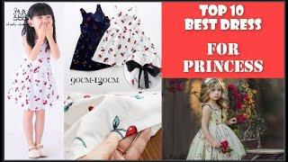 Top 10 Best Kids Dresses For Princess || Cotton Girls Dress Kids Sundress, Bear Leader Girls Dress,