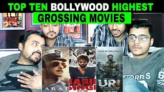 Pakistani Reaction on | Top 10 Highest Grossing Films of 2019 | Top 10 Indian Films Of 2019