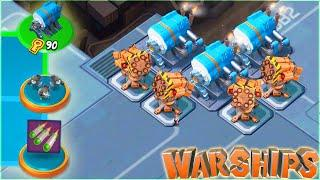 NEW WARSHIPS SEASON 10 IN BOOM BEACH!