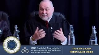 [VF] Commission judiciaire sur le trafic des enfants - Tribunal d'instruction - Robert D. Steele