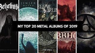 My Top 20 Metal Albums of 2019