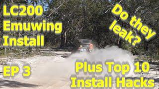 Emuwing Gullwing Window Installation.  Do they Leak?  Plus Top 10 Installation Hacks | Ep 3