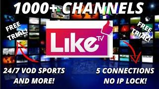 Like TV US, CA, UK LATINO BEST IPTV SERVICE 2020 TOP TV APP LINK OVER 2,000 CHANNELS - 3 DAY TRIAL!