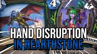 Hand Disruption in Hearthstone! | Tempo Strategy [Scholomance Academy]