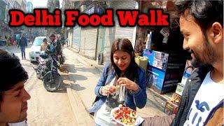 Delhi Food Walk | Unique Food Shops in Delhi | Offbeat Delhi Food Vlog | Delhi Food Review