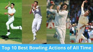 Top 10 Best Bowling Actions of All Time Fast Bowlers