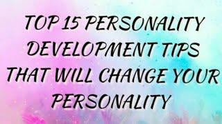 Top 15 Personality development tips in English|good thoughts for students| good thoughts in English|