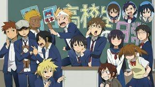 top 10 comedy anime series(including; slice of life, school, romance, comedy anime series)