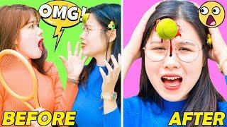 16 Best Funny Pranks & Funny Tricks | Funny Girls | SMART FUNNY DIY PRANKS ON FRIENDS RAINBOW STUDIO