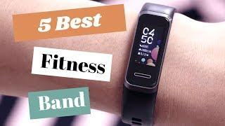 Top 5 Best Smart bands In 2020 | Best Fitness Trackers