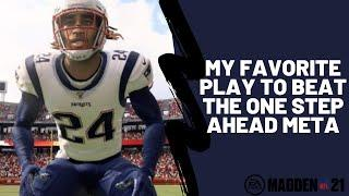 Madden 21 - How To Beat One Step Ahead In Madden 21| This Play Torches The META Cover 0 Man Defense|