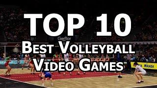 Top 10 Best Volleyball Video Games of All Time