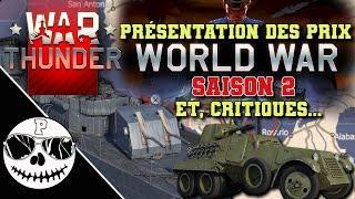 """WAR THUNDER - """"WORLD WAR: SAISON 2"""","""