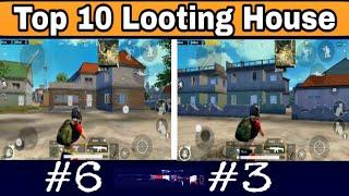 Top 10 Looting House in Pubg mobile  __[pubg Mobile] Thrones gaming