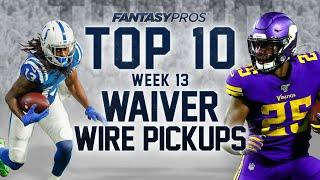 Top 10 Waiver Wire Pickups for Week 13 (2020 Fantasy Football)