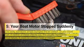 Top 10 Common Boat Engine Problems