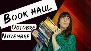Book Haul ⎜Novembre ⎜Octobre ⎜2019