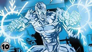 Top 10 Super Powers You Didn't Know Iceman had
