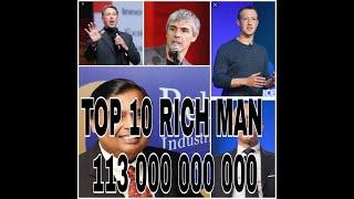 #5.Top 10 richest person in the world..by instant