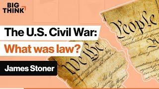 Lincoln's law: How did the Civil War change the Constitution? | James Stoner | Big Think