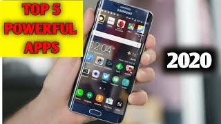 Top 5 amazing paworful android Apps 2020 || top 5 apps 2020 || 5 best apps 2020 ||by. Shiva ki yaari