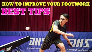 How To Improve Your Footwork | Best Tips (Table Tennis)