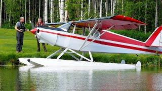 SeaPlane Flight Training - Best place on Earth to do it - Alaska Flying part 1