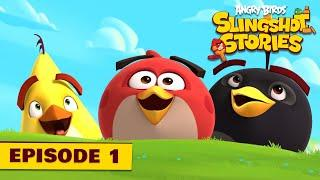 Angry Birds Slingshot Stories Ep. 1 |  First Level Ever!