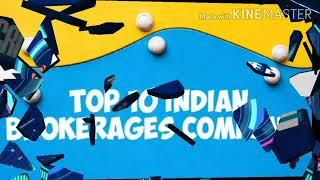 Top 10 Indian brokers for share market