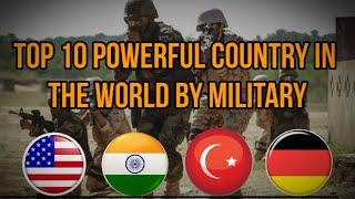 Top 10 powerful country in the world by military 2020.
