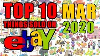 Top 10 High Valued Items Sold on Ebay MARCH 2020 | Selling over $6800