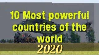 Top 10 most powerful country in the world 2020 //duniya ka sabse powerful Desh