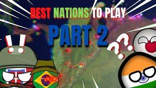 Best countries to play in Rise of Nations Pt.2 - ROBLOX