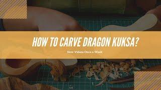 Dragon Kuksa Carving Tutorial I Easy Wood Carving for Beginners