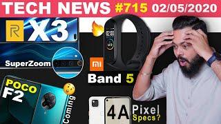 realme X3 SuperZoom Specs,POCO F2 Is Coming,Mi Band 5 Live Image,Pixel 4A Specs,Lockdown 3.0-#TTN715