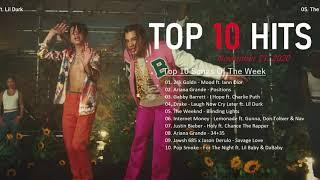 Top 10 Songs Of The Week November 21, 2020 - Billboard Hot 100 Top 10 Singles