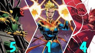 Top 10 Omega Level Superhero Versions Part-2 [ Explained In Hindi ]