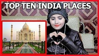 Pakistani Girl Tiktok Reaction Top  10 Best Places to Visit in India 2020