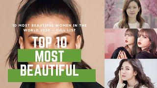 TOP 10 WOMAN Most Beautiful Women in the World 2020