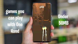 Top 10 Best Games You Can Play With One Hand Available For Android and IOS 2020