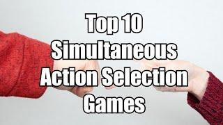 Top 10 Simultaneous Action Selection Board Games - Chairman of the Board