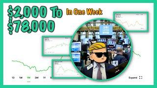 Craziest Trades On WallStreetBets - $76,000 Gain | Robinhood Investing